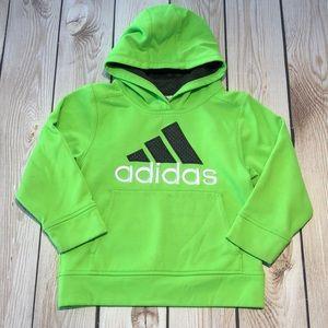 Adidas boy's athletic pullover hoodie